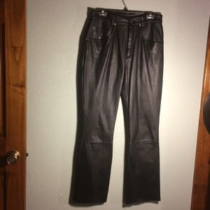 Size12- Wilson Leather Boot Cut Pants